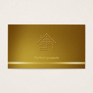 Arquitecto el   moderno tarjeta de negocios