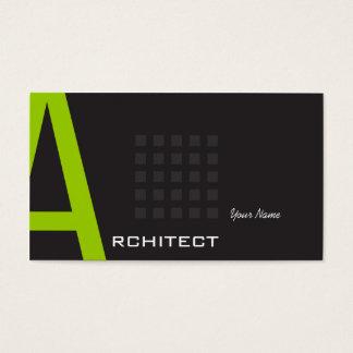 Arquitecto Tarjeta De Negocios