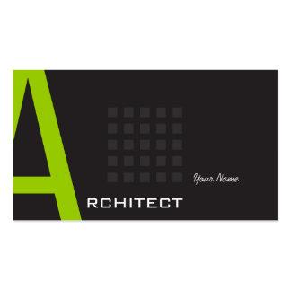 Arquitecto Tarjetas De Negocios