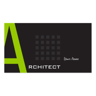 Arquitecto Tarjetas De Visita