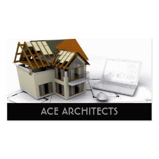 Arquitectos o tarjeta de visita de construcción