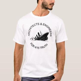 Arquitectos y ingenieros para 4/15 camiseta de la