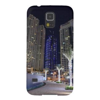 Arquitectura de Dubai en la noche Carcasa Galaxy S5