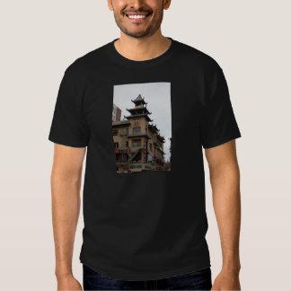 Arquitectura de San Francisco Chinatown Camiseta