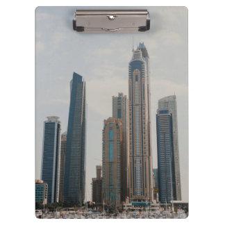 Arquitectura del puerto deportivo de Dubai Carpeta De Pinza