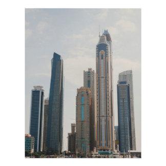 Arquitectura del puerto deportivo de Dubai Flyer