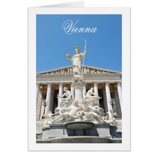 Arquitectura en Viena, Austria Tarjeta