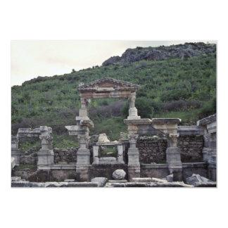 Arquitectura griega invitación 12,7 x 17,8 cm