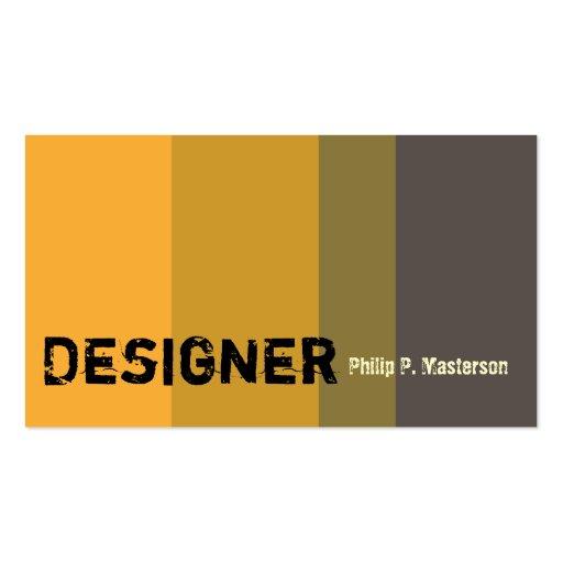 Arquitectura masculina del diseñador tarjeta de visita
