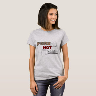 """""""Arrastra la camiseta básica de las mujeres NO de"""