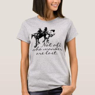 Arrastre a los jinetes no todos del caballo que camiseta