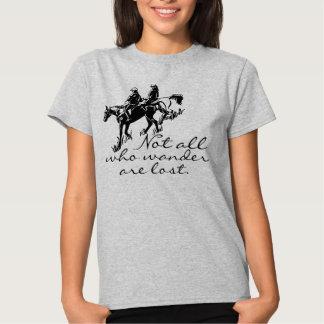 Arrastre a los jinetes no todos del caballo que camisetas