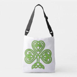 Arroz de Eire del irlandés del día de St Patrick Bolsa Cruzada