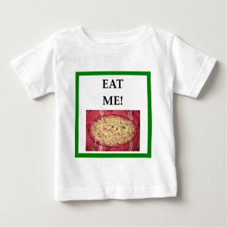 arroz frito camiseta de bebé