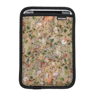 Arroz frito con el camarón funda iPad mini