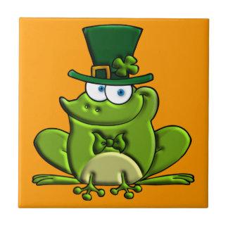 Arroz O'Frog Azulejo Cuadrado Pequeño