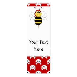 ¡Arrr! La abeja manosea la señal de la abeja Plantilla De Tarjeta De Negocio