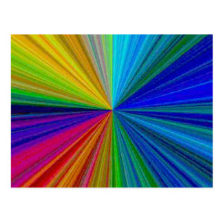 Arsenal circular 1 del arco iris del color postal