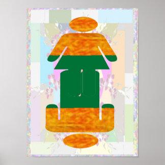 ART101: BELLEZA en la SIMPLICIDAD barata Póster