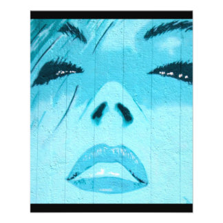 art-184859 arte, pintada, azul, cara, mujer, ojos, tarjetas publicitarias