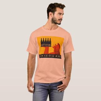 art déco retro del estilo Botella-agua Camiseta
