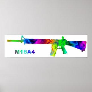 artdeck 5, esquema M16 Póster