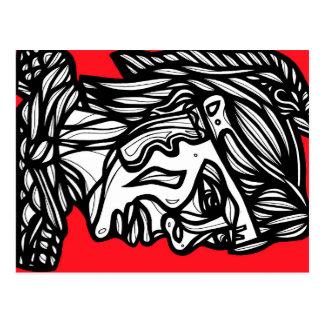 ARTE (1384) RED.jpg Postal