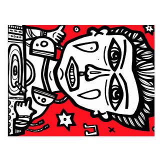 ARTE (1419) RED.jpg Postal