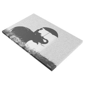"Arte 36"" de la lluvia del elefante x 24"" abrigo de"