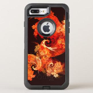 Arte abstracto de Firebirds del baile Funda OtterBox Defender Para iPhone 8 Plus/7 Plus