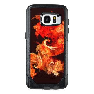 Arte abstracto de Firebirds del baile Funda OtterBox Para Samsung Galaxy S7 Edge