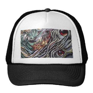 Arte abstracto de la calle gorras