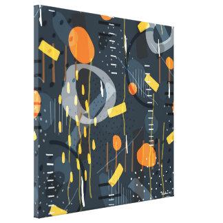 Arte abstracto de la composición geométrica