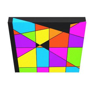 Arte abstracto de Tetris