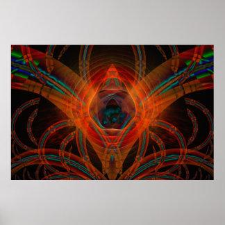 Arte abstracto de Vader Digital Posters