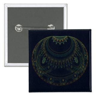 Arte abstracto del artefacto chapa cuadrada 5 cm