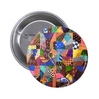 Arte abstracto del edredón de remiendo del edredón pins