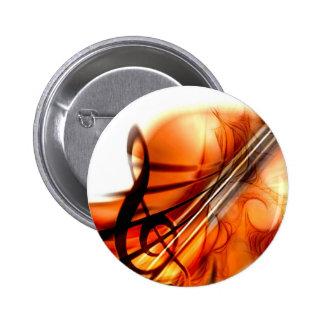 Arte abstracto del violín pins