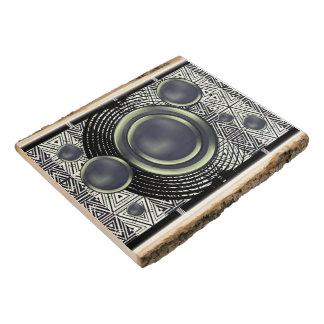 Arte abstracto geométrico de los ritmos