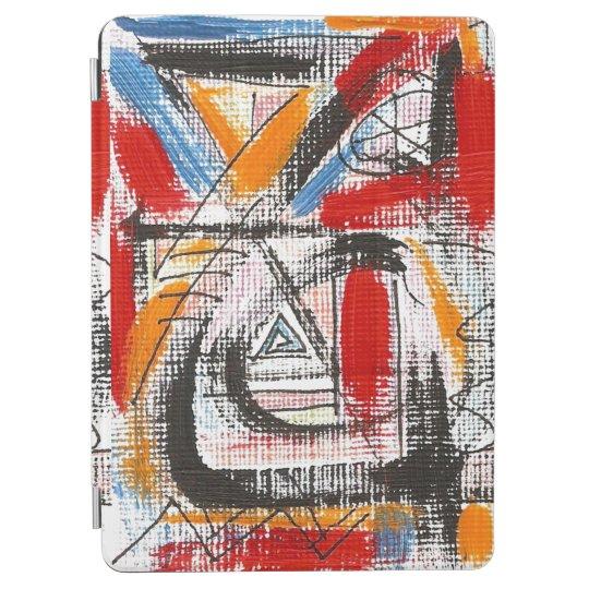 Arte abstracto pintado tercera Ojo-Mano Cover De iPad Air