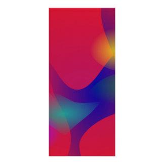 Arte abstracto rojo oscuro tarjetas publicitarias