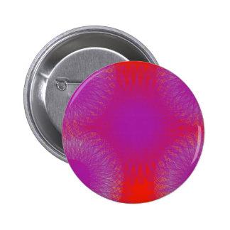 arte abstracto rojo y púrpura de la mezcla pin