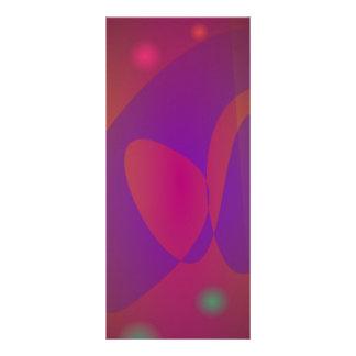 Arte abstracto simple rojizo lonas personalizadas