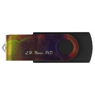 Arte abstracto sofisticado personalizado memoria USB