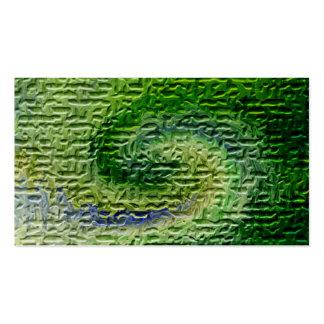 Arte abstracto verde