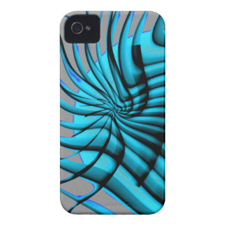 Arte abstracto y diseño Case-Mate iPhone 4 carcasa