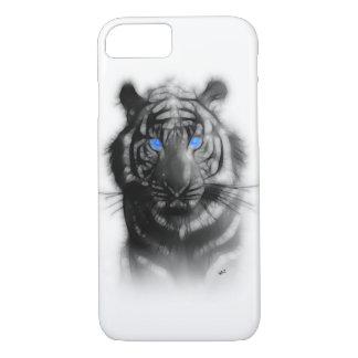 Arte animal del aerógrafo del alcohol del tigre de funda iPhone 7
