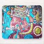 Arte azteca de Mousepad del indio del alto sacerdo Alfombrilla De Raton