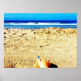 Arte azul de la fotografía de California de la