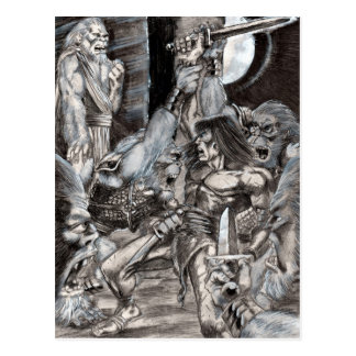 Arte bárbaro 002 de la apocalipsis postal